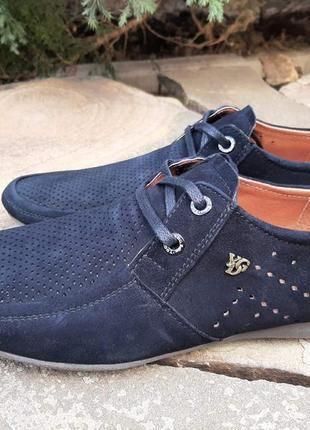 Мужские кожаные туфли model-sk2 (перфорация)
