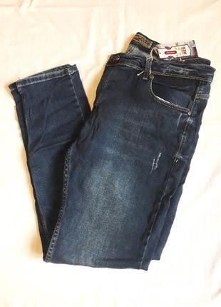 Джинси чоловічі, чоловічі штани, джинси, джинси напів-батальні