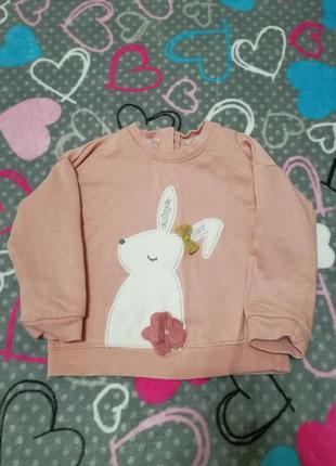 Милый свитерок с кроликом