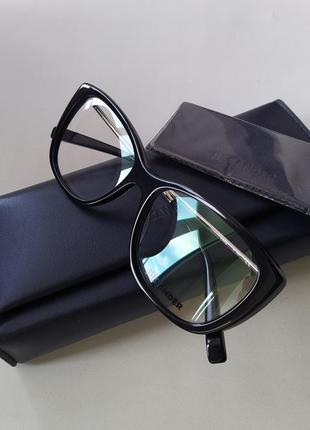 Новая оправа jil sander оригинал очки премиум жиль сандер made in italy cateye2 фото