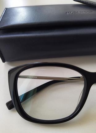 Новая оправа jil sander оригинал очки премиум жиль сандер made in italy cateye8 фото