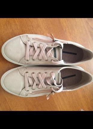 Французские туфли кроссовки esprit 41 (27-9.5) на широкую ногу
