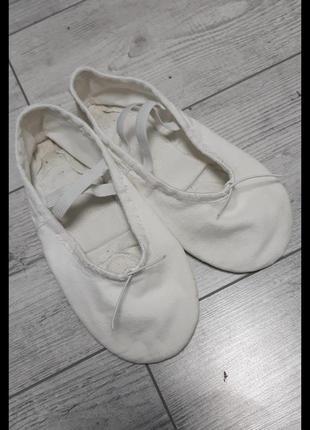 Балетки обувь для гимнастики,балета ,танцев р31-322 фото