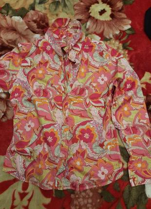 Классная рубашка tommy hilfiger (оригинал)