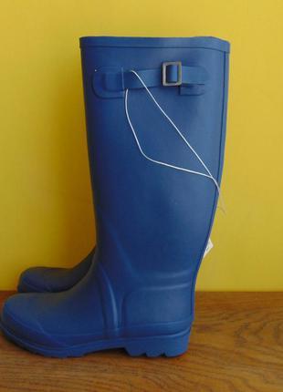 Брендовые модные резиновые утепленные сапоги blue motion 37 р.