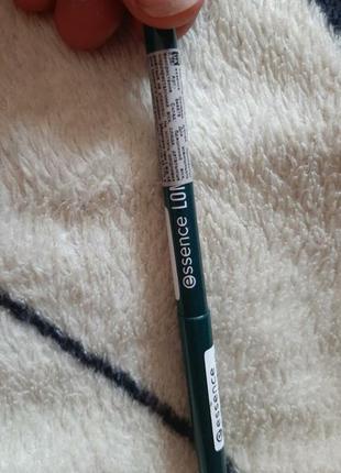 Карандаш  для глаз механический, зелёный