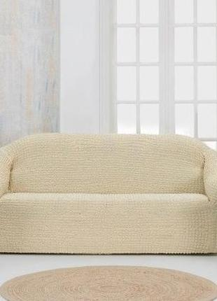 Набор чехлов на диван с креслами без рюшек в ассортименте