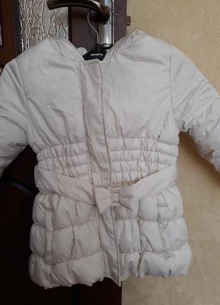 Теплая курточка на синтепоне, 3-4г