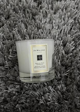Ароматичнская мини свеча jo malone london english pear & freesia