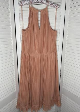 Крутое платье плиссе в стиле монро на девочек с формами