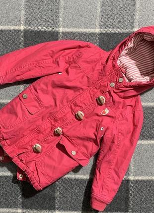 Детская курточка парка next 4-5 лет
