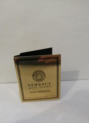 Versace pour femme oud oriental, женская парфюмированная вода, про1мл