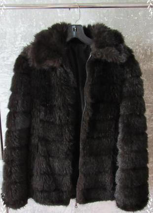 Шубка искуственная, полушубок, меховая курточка от h&m