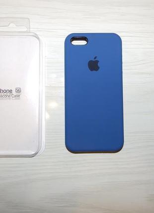 Чехол silicone case apple iphone se