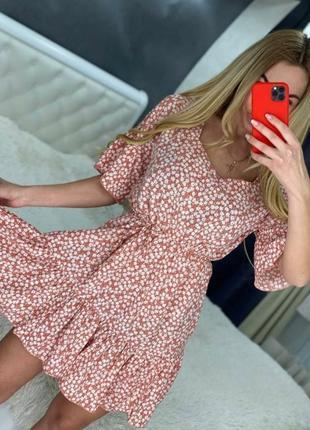 Платье женсеое летнее софт