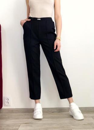 Новые шикарные брендовые брюки с высокой посадкой