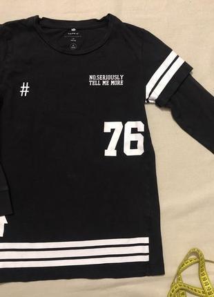 Свитшот, кофта-футболка name it, 100% cotton