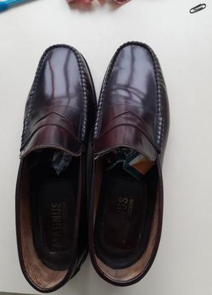 Туфли кожаные magnus 32 см след
