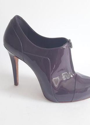 Ботильоны ботинки туфли aldo новые натур лак кожа р 38