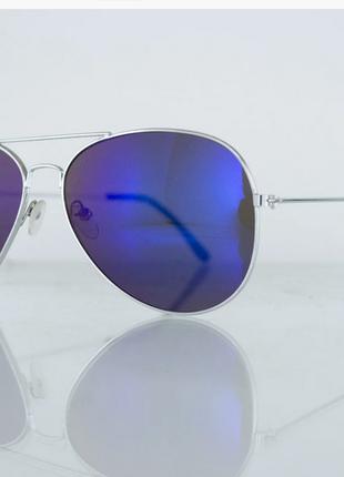 Очки унисекс солнцезащитные aviator (авиатор) зеркальные