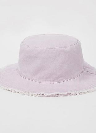 Джинсовая панама шляпа