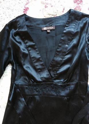 Безумно красивое чёрное платье