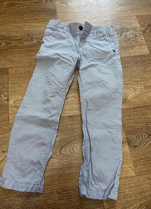 Штаны легкие брюки chicco 104, 4 года