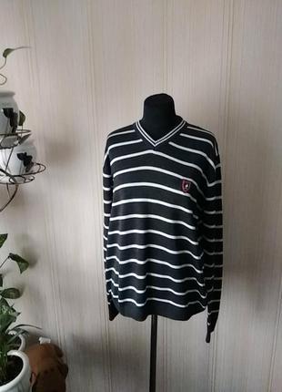Отличный легкий пуловер, джемпер 50/шерсть2 фото