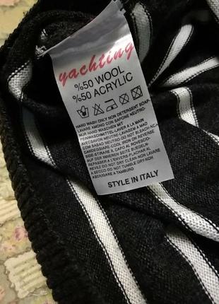 Отличный легкий пуловер, джемпер 50/шерсть6 фото