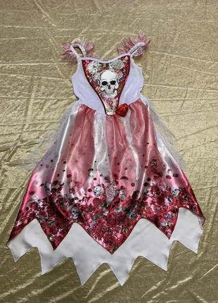 Карнавальный костюм платье george на хэллоуин на 7-8 лет