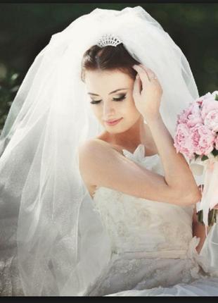 Фата весільна найпишніша