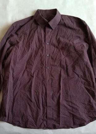 Рубашка adidas сорочка р. 44 оригинал в полоску мужская хлопок