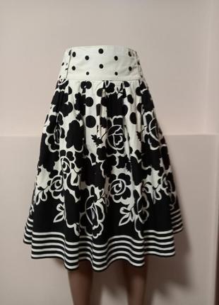Шикарная пышная юбка миди!