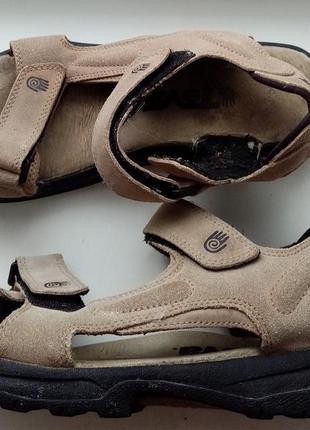 Кожаные сандалии босоножки teva (оригинал)