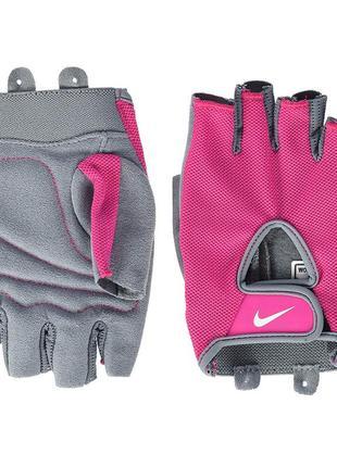 Перчатки для тренинга nike womens fundamental fitness gloves.