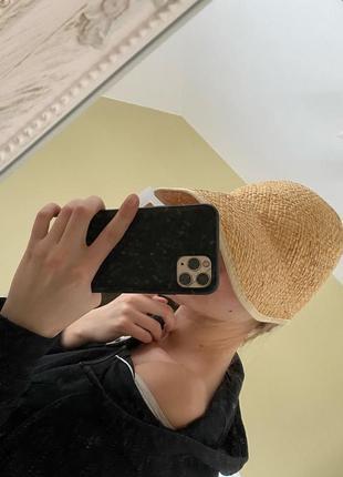 Соломенная кепка / шляпа из соломы