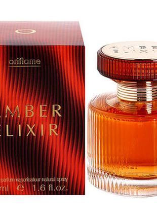 Парфюмерная вода amber elixir 11367 oriflame орифлейм амбер эликсир