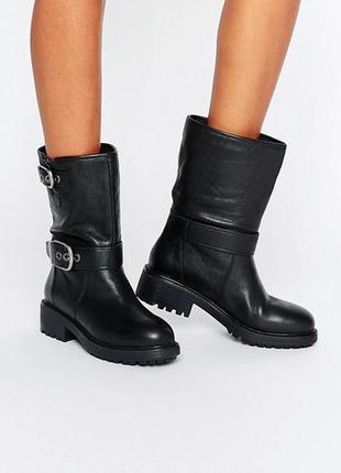Кожаные ботинки aldo,р-р 36