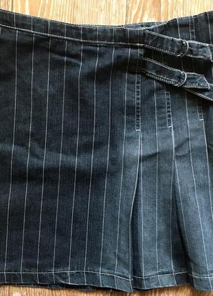 Джинсовая юбка от broadway