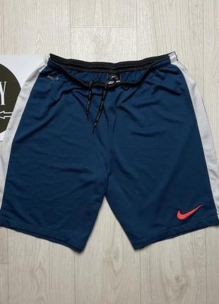 Спортивные шорты nike dri-fit, размер l