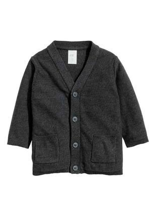 Кардиган свитер, h&m, 74см