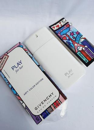 Givenchy play for her женская парфюмерная вода