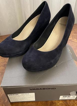 Замшевый туфли vagabond