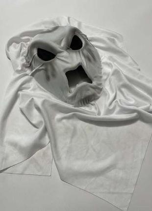 Маска привидения, универсальная, f&f, маскарадная. в хорошем сост.