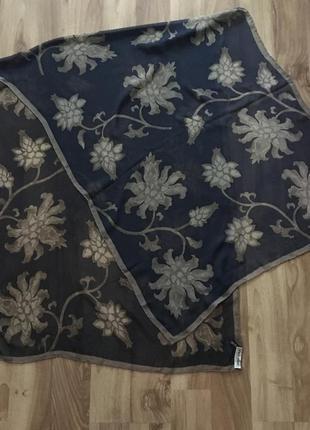 Шёлковая шаль от armani