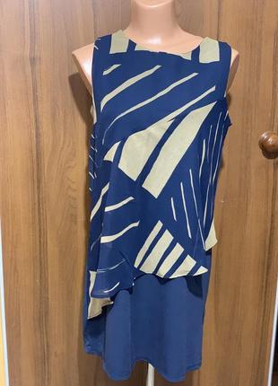 Стильное платье свободного кроя1 фото