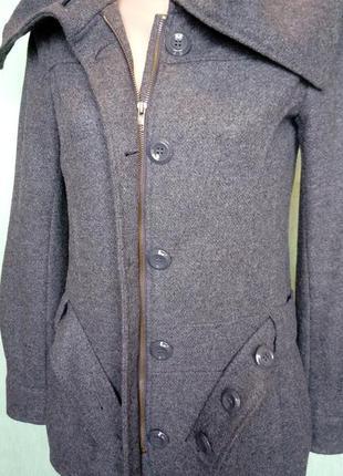 Молодежное полушерстяное полупальто/куртка divided by h&m