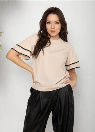 Блуза в расцветках,  есть размеры3 фото