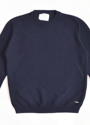 Темно -синий джемпер свитер zara  для мальчика 9 лет