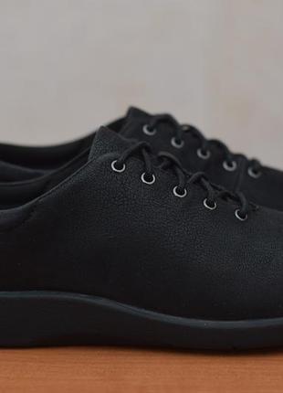 Черные кеды, кроссовки clarks, 41.5 размер. оригинал